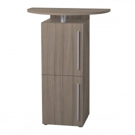 Meuble pour machines à café en bois driftwood pour machine à café expresso, à capsule, dosettes, thé…
