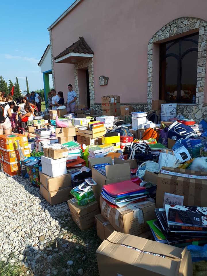 L'association L111 a fait le tour avec Europ'raid pour distribuer des fournitures et autres objets