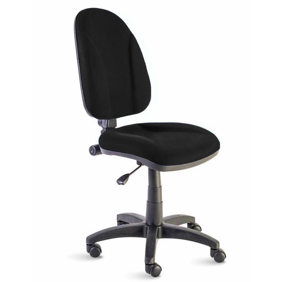Chaise de bureau noir convenant pour un bureau et espace de coworking en association et collectivité