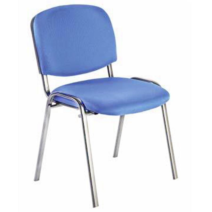 Siège de bureau bleu convenant pour des salles de réunions et conférences effectuées en entreprise / association ou collectivite