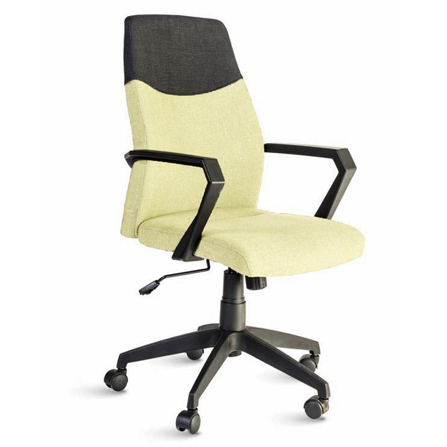 Fauteuil de bureau beige destiné aux directeures et managers d'entreprise souhaitant un fauteuil ergonomique et adapté à leur fonction