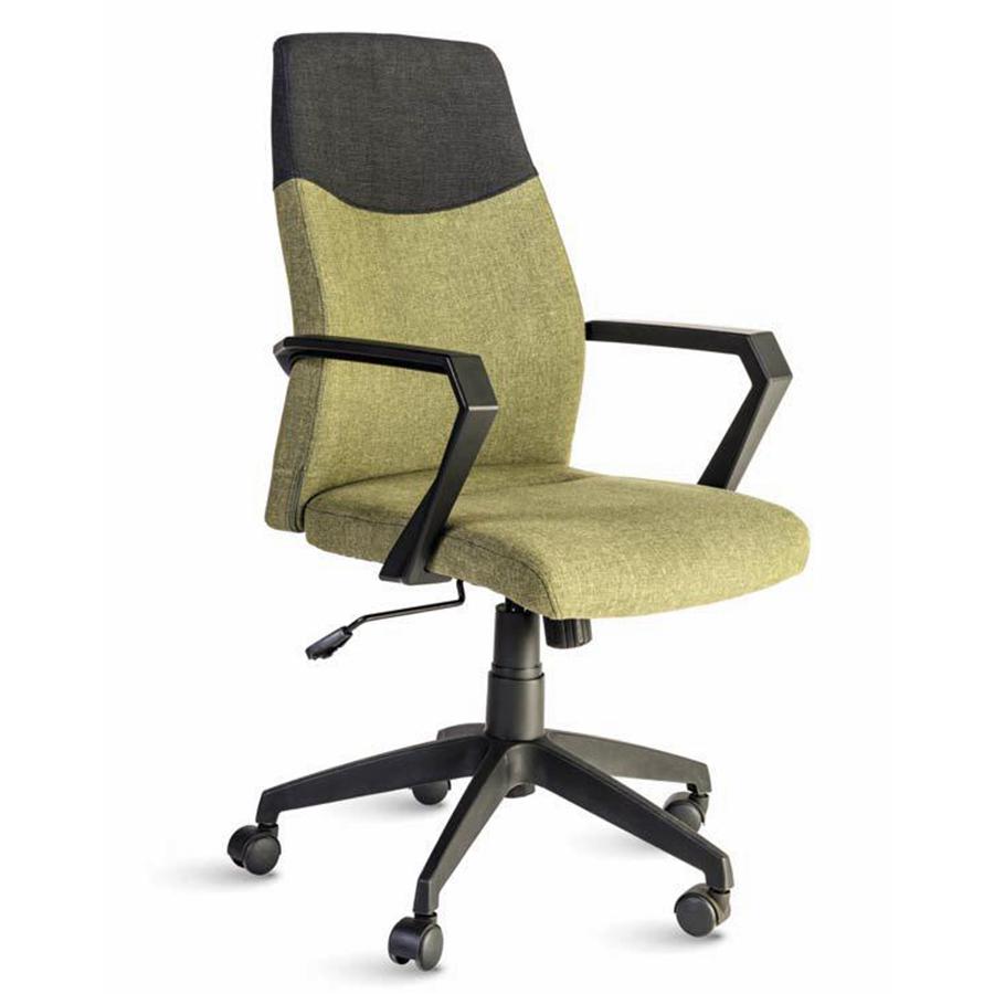 Fauteuil de bureau vert destiné aux directeures et managers d'entreprise souhaitant un fauteuil ergonomique et adapté à leur fonction