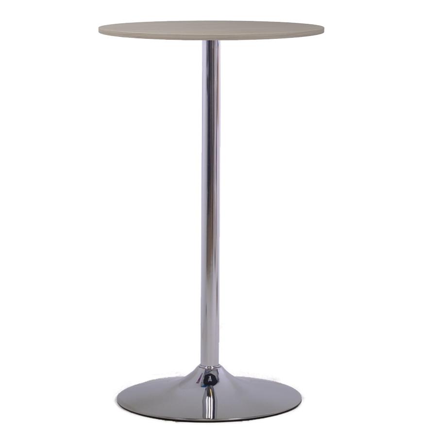 Table haute driftwood avec un plateau de 60 cm qui se décline en plusieurs coloris au choix idéal pour entreprise et pme