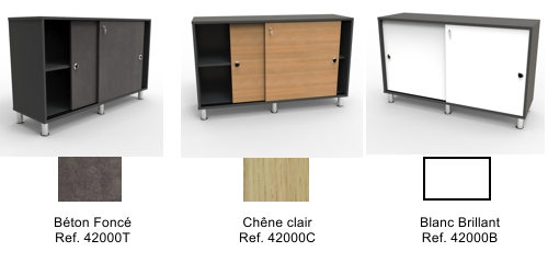 armoire de bureau pour rangement et archivage. meuble design pour ... - Meuble Rangement Bureau Design