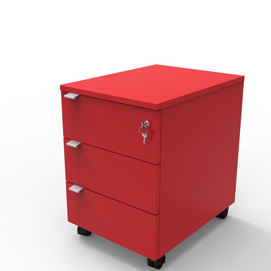 Caisson de rangement à tiroirs pour archivage et classement