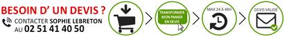 Devis vente mobilier bureau pour livraison etage et international