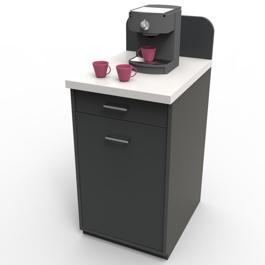 meuble machine caf pour cafetiere nespresso h tel. Black Bedroom Furniture Sets. Home Design Ideas