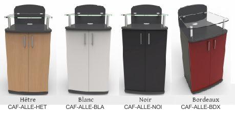 Meuble machine à café expresso dosette ou capsules et cafetiere ALLEGRO