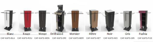 Meuble machine a café entreprise expresso dosette capsules