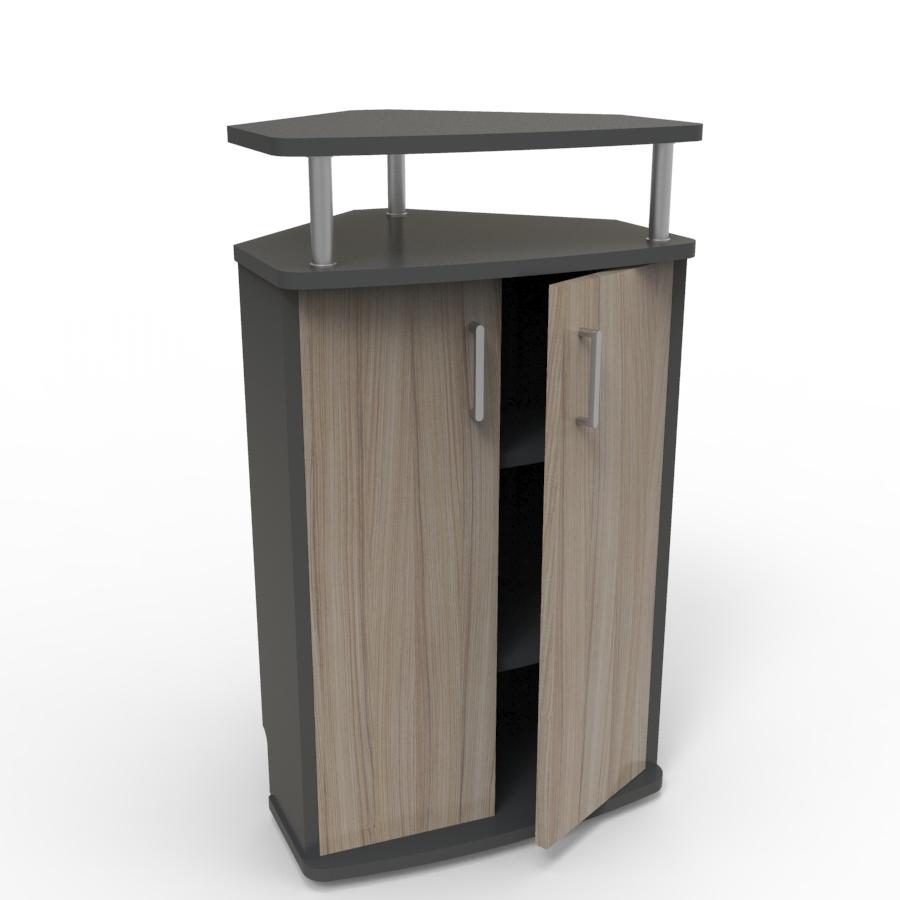 Meuble d'angle pour machine à café driftwood convenant aux structures souhaitant faire l'achat d'un meuble pour machine à café avec un bon rapport qualité / prix