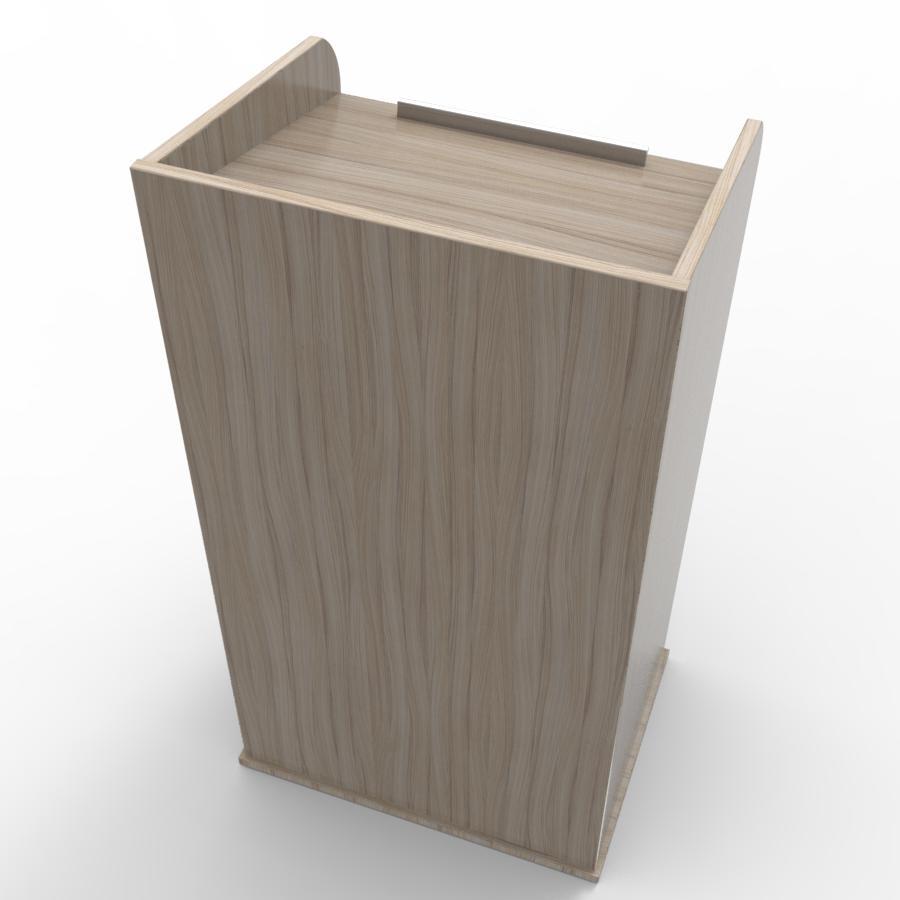 Pupitre de conférence en bois driftwood pour entreprises, associations, écoles, universités