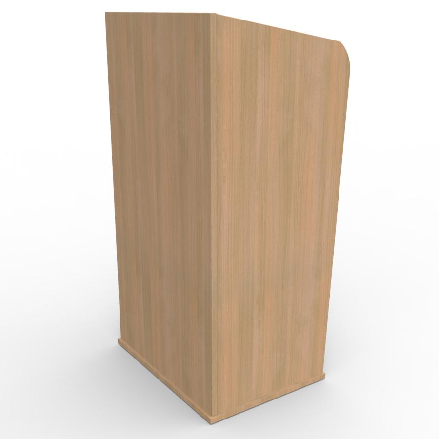 Pupitre de conférence en bois chêne pour entreprises, associations, écoles, universités