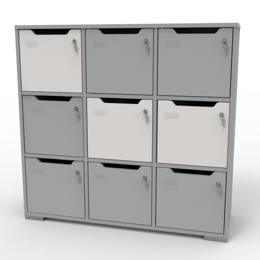 Meuble casier en bois CASEO pour vestiaires, centres de sport