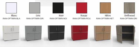 meuble avec serrure pour rangement de bureau ferm avec tag re amovible. Black Bedroom Furniture Sets. Home Design Ideas