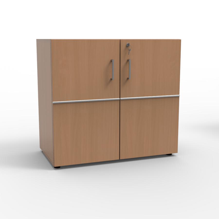 Meuble de rangement avec serrure hêtre pour archivage et classement destiné aux entreprises et collectivités