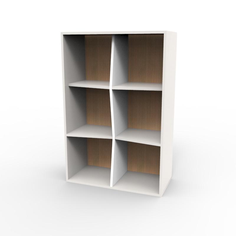 Meuble de rangement, étagère murale pour classer des documents